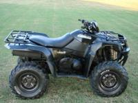 Nice '11 Suzuki Kingquad 500 4 x4. One of the nicest