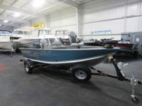 NICE 2013 ALUMACRAFT 165 SC CLASSIC WITH ONLY 14 ENGINE
