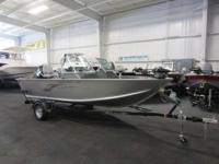 A 60 hp Mercury 4-stroke EFI outboard with power trim