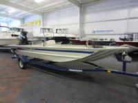 NICE 2013 TRACKER 1860 GRIZZLY CC WITH ONLY 152 ENGINE