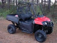 2014 Honda Pioneer 700 4x4. Great looking, strong