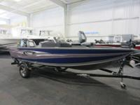 NICE 2015 LOWE 165 PRO SC W/ONLY 15 ENGINE HOURS AND