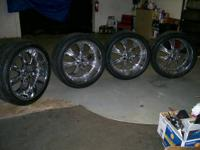 305/35/R24 Almost New All Sport Performance Tires and