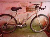 hi up for sale is a very nice dimondack mountainbike