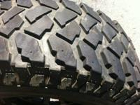 "I have a 30"" Timberline MT tire that I kept as a spare,"