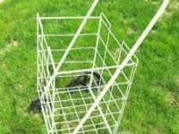 NICE 4 WHEEL COLLAPSABLE CART, GREAT FOR TAKING TO