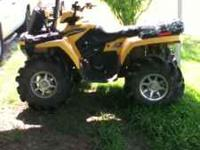 I have a nice 4 wheeler for sale just in time 4 hunting