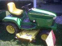 20 hp john deere tractor liquid cooled 54 inch cut