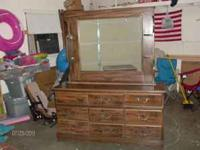I have a nice 9 drawer dresser with mirror. Its in