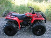 1999 Yamaha Big Bear 350 2x4. Nice Big Bear looks and
