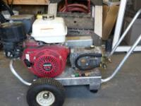 Nice pressure washer 4000 psi and has a per broom .and