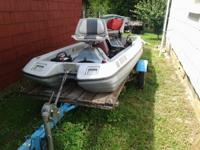 I have for sale or trade a nice 3 man Coleman boat for