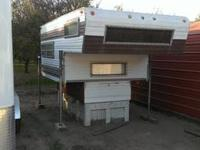 Really nice, clean cabover camper. It's a1970 but was