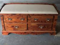 This listing is for a nice cedar chest. The dimensions
