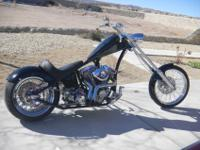 NICE CHOPPER!! 2005 CUSTOM BUILT CHOPPER HIGHROLLER2005