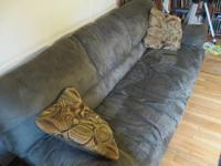 For sale: Two identical Ashley Furniture microfiber