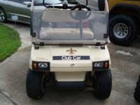 Clubcar DS, 48 Volt New Batteries, Charger, Roof