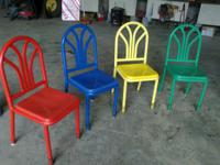 Hello up for sale are some table and chairs from a
