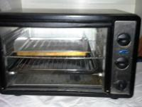 Convection 6 slice toaster. Hardly used. Works like