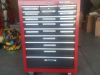 CRAFTSMAN TOOLBOX TOP IN EXCELLENT CONDITION,