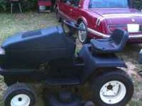 i have a nice riding mower it a craftsmen 46in cut 20hp