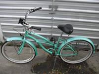"nice lightly used ""Beach Cruiser"" style bicycle  &"