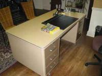 Two nice desks. Good condition. Call  Location: Loop Rd