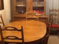 Nice Dinette Set for sale . This set includes a Table ,