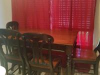 Type: Dining Room Type: Sets Nice dining set cherry top