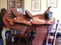 I have a nice double seated handmade saddle for sale.