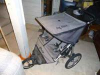 we are selling this jogger stroller for less than half
