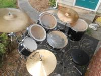 Black Drum Set, Combo of Brands Sound Design and Pulse.
