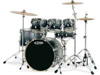 This is a great sounding kit.... maple shells , toms