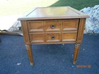 Nice end table or lamp table with drawer for storage.