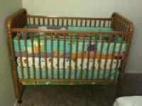 NICE EVENFLO BABY CRIB FOR SALE. I RECENTLY BOUGHT THIS