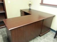 I have two cherry wood corner executive desks. Can be
