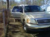99 FORD EXPEDITION GOLD EXTERIOR TAN LEATHER INTERIOR