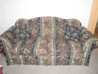 Nice floral couch in great condition! Call for more