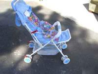 This is a nice stroller that is very easy to fold with