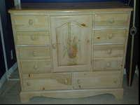 I have a four piece bedroom set, which includes dresser
