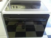 "Used Kenmore 30"" glasstop stove and oven. Better than"