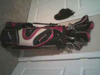 i have a nice set of Acuity golf clubs for sell.I have