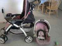 I have a matching carseat (for infant) and stroller.