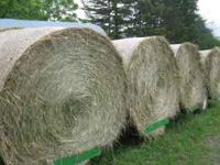 I have 600 tons of hay in round bales sored in my