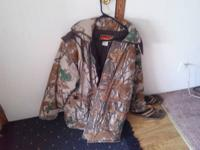 My grandpa has a real nice camouflage hunting coat he