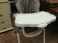 $40 ~ Nice adjustable High Chair with removable tray