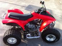 I have forsale, a very nice atv always stored inside,