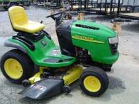 This is a very nice John Deere L120 Riding mower. It is