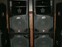 Very nice 1200 watt system. Ready to go with books, a