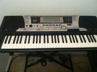 Selling my Yamaha PSR 550 keyboard w/stand and stool.